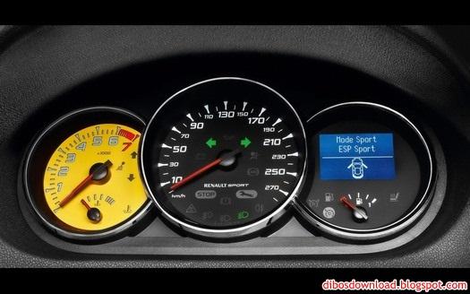 renault speedometer dial