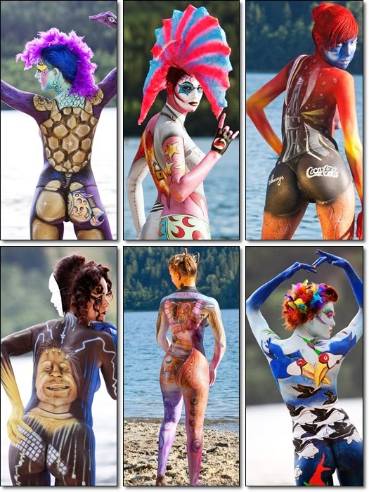 Body Art Vertical