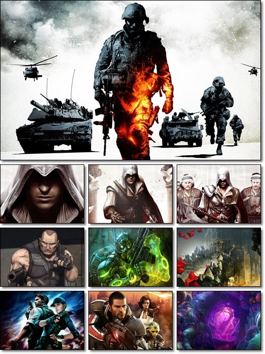 Games CG Collection Wallpaper