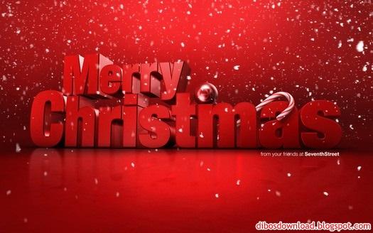 red merry christimas