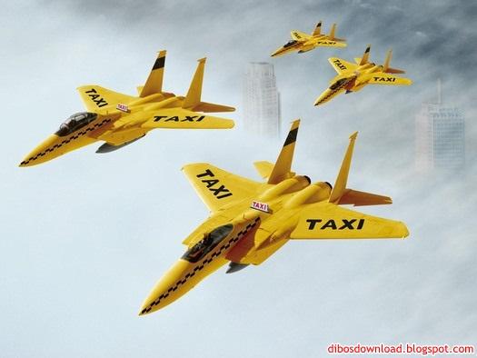 F16 aircraft taxi