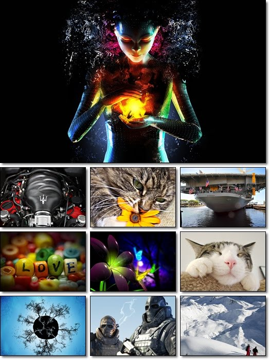 Full HD Mixed Wallpapers Pack 87 by Smpx