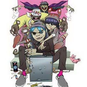 Gorillaz - Crystalised