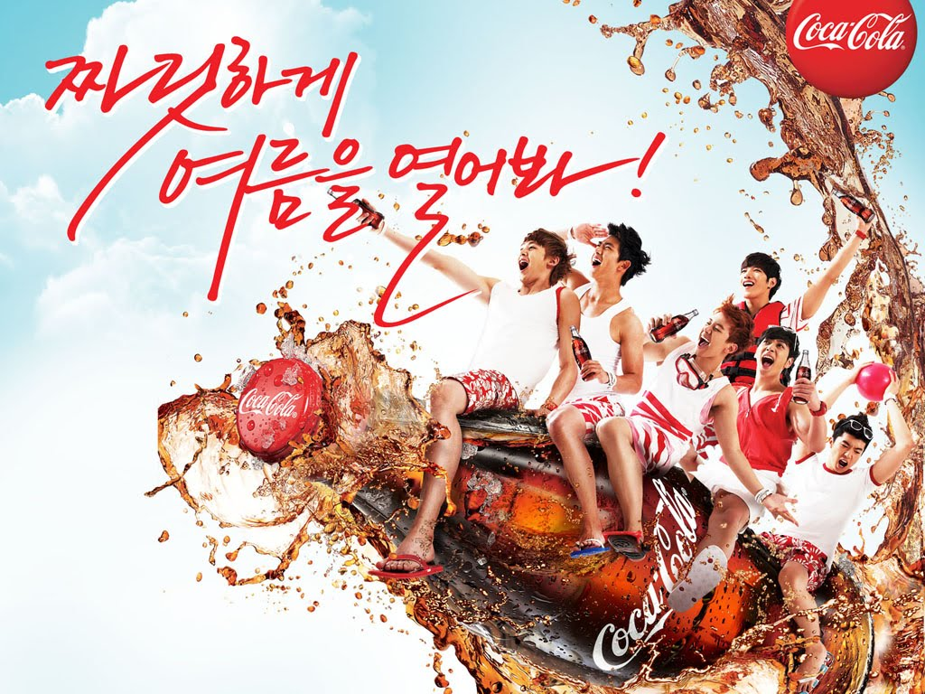 Hottest Jaywalker: [WALLPAPERS] Coca Cola Summer Photoshoot, ♪2PM