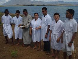Batismo em Mirim 04/07/2010