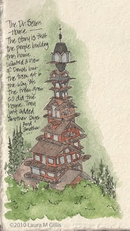 The Dr Seuss House | YellowCatArt