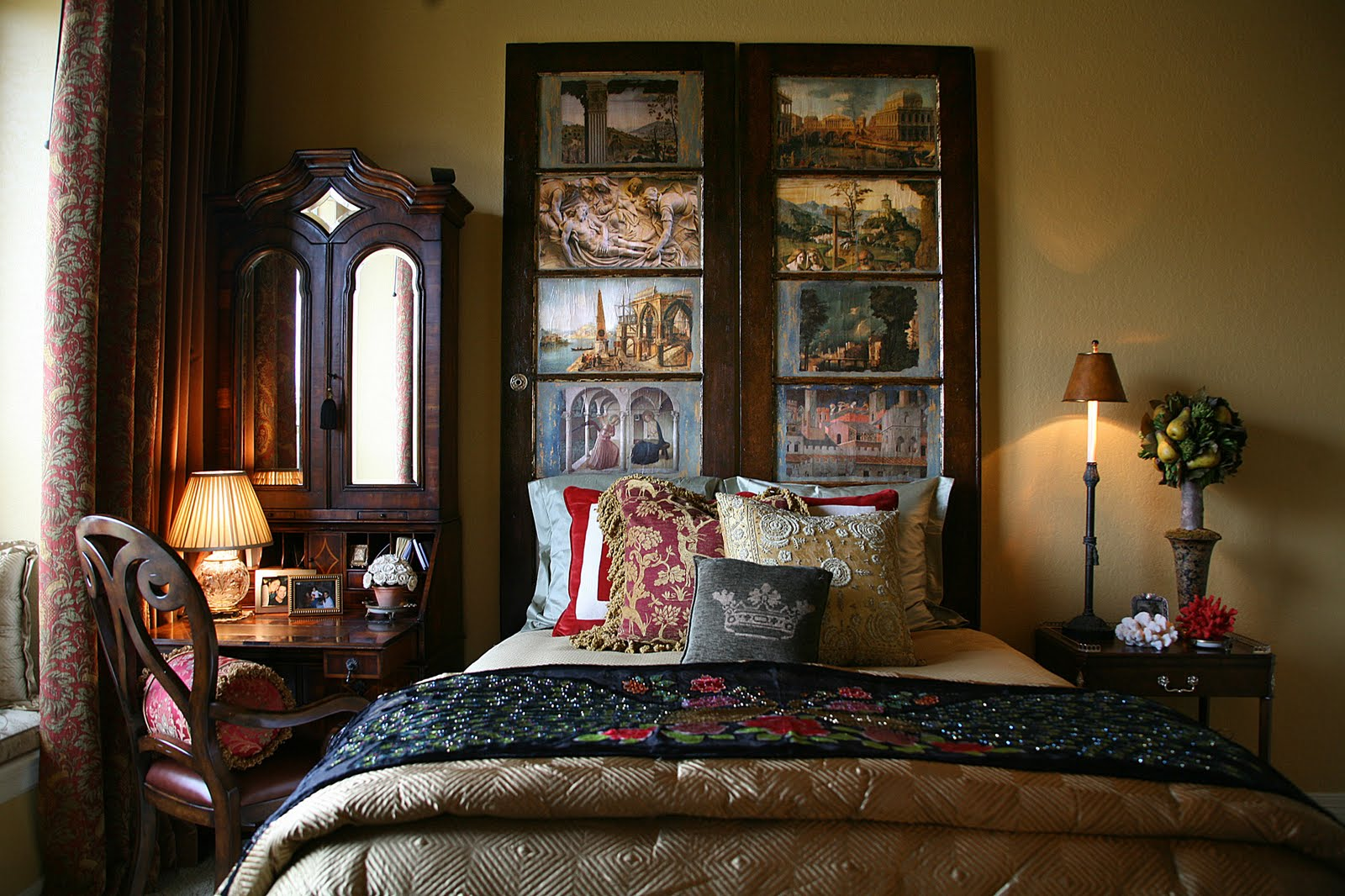 Matthew s mumme tuscan living inspired by romance for Tuscany interior designs