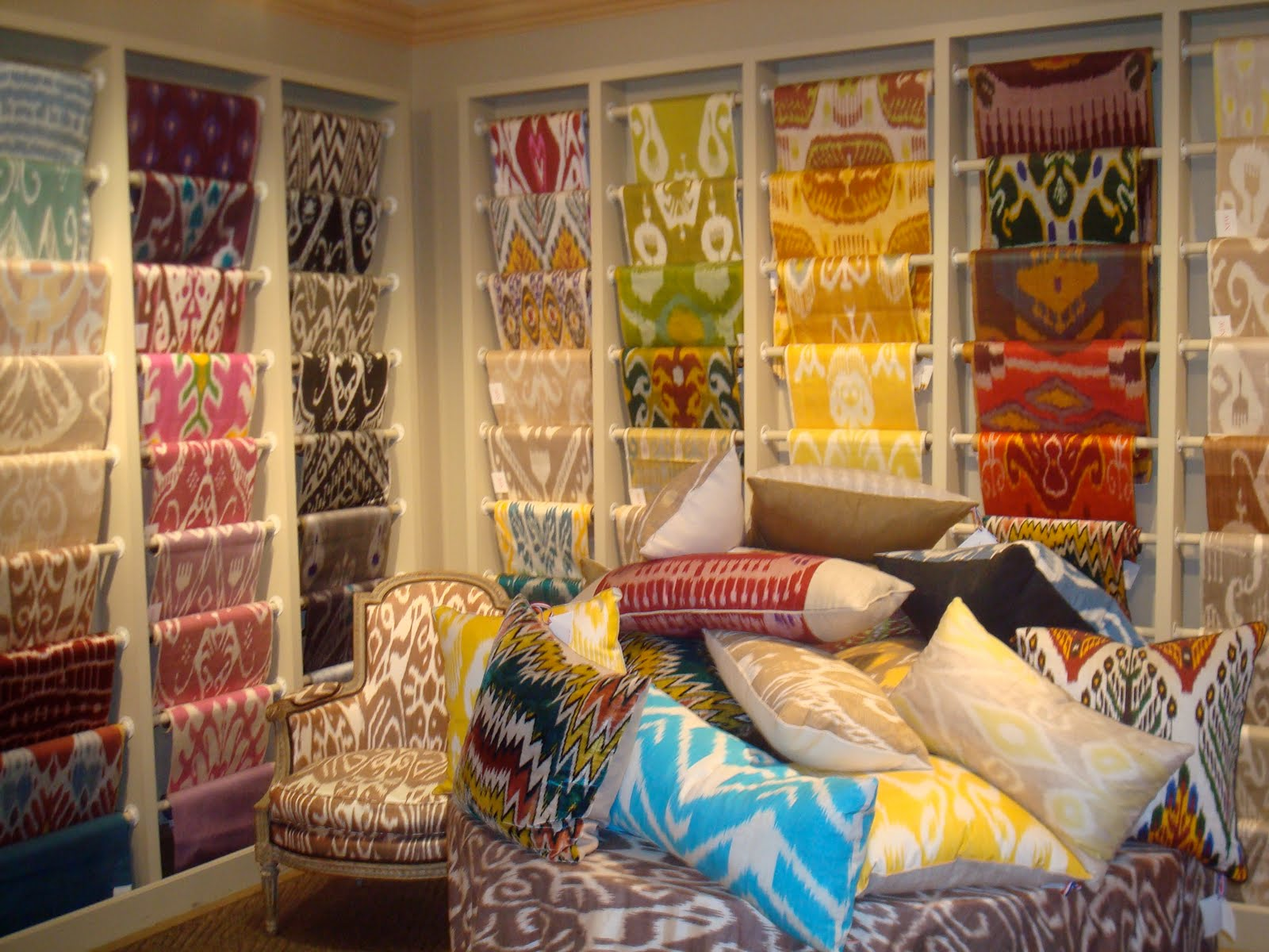 Brunschwig Fils Showroom And Ikat