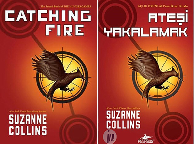 a review of catching fire by suzanne collins The hunger games: catching fire by suzanne collins - review 'katniss now  faces the threat of losing her loved ones when president snow.