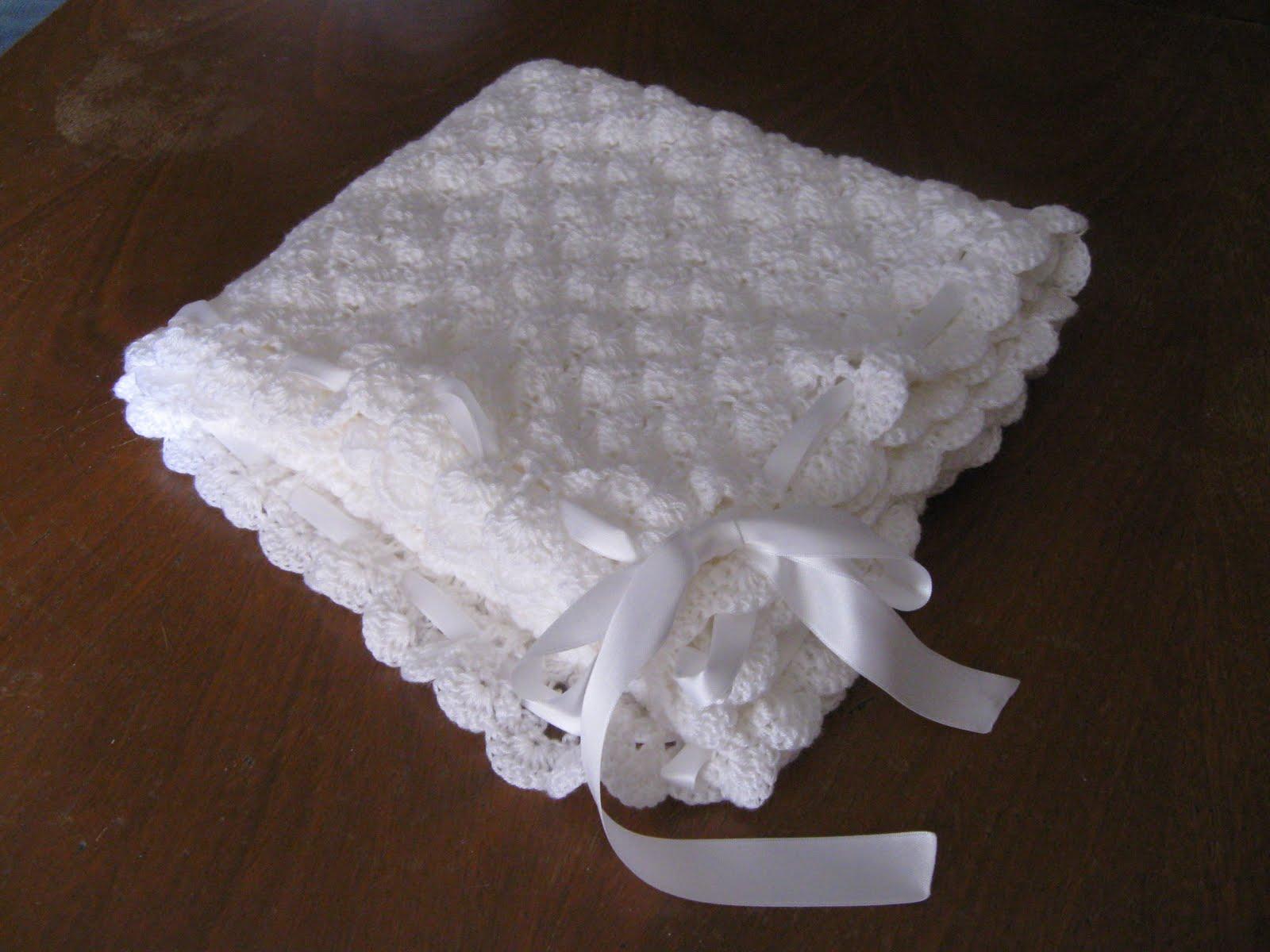 Puntos al crochet para mantillas de bebé - Imagui