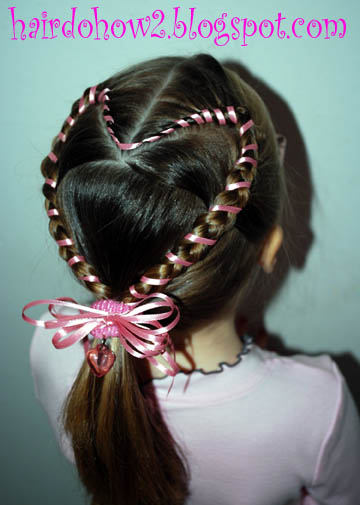 Lesson 29: Taped Dutch Braid Heart