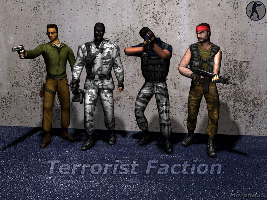 Counter Strike Wallpaper Terrorist Team 1024 X 768 Wallpapers