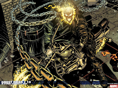 Motorcycle Wallpapers On Cartoons Wallpaper Ghost Rider