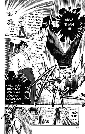 History's Strongest Disciple Kenichi Chap 250 - Trang 11