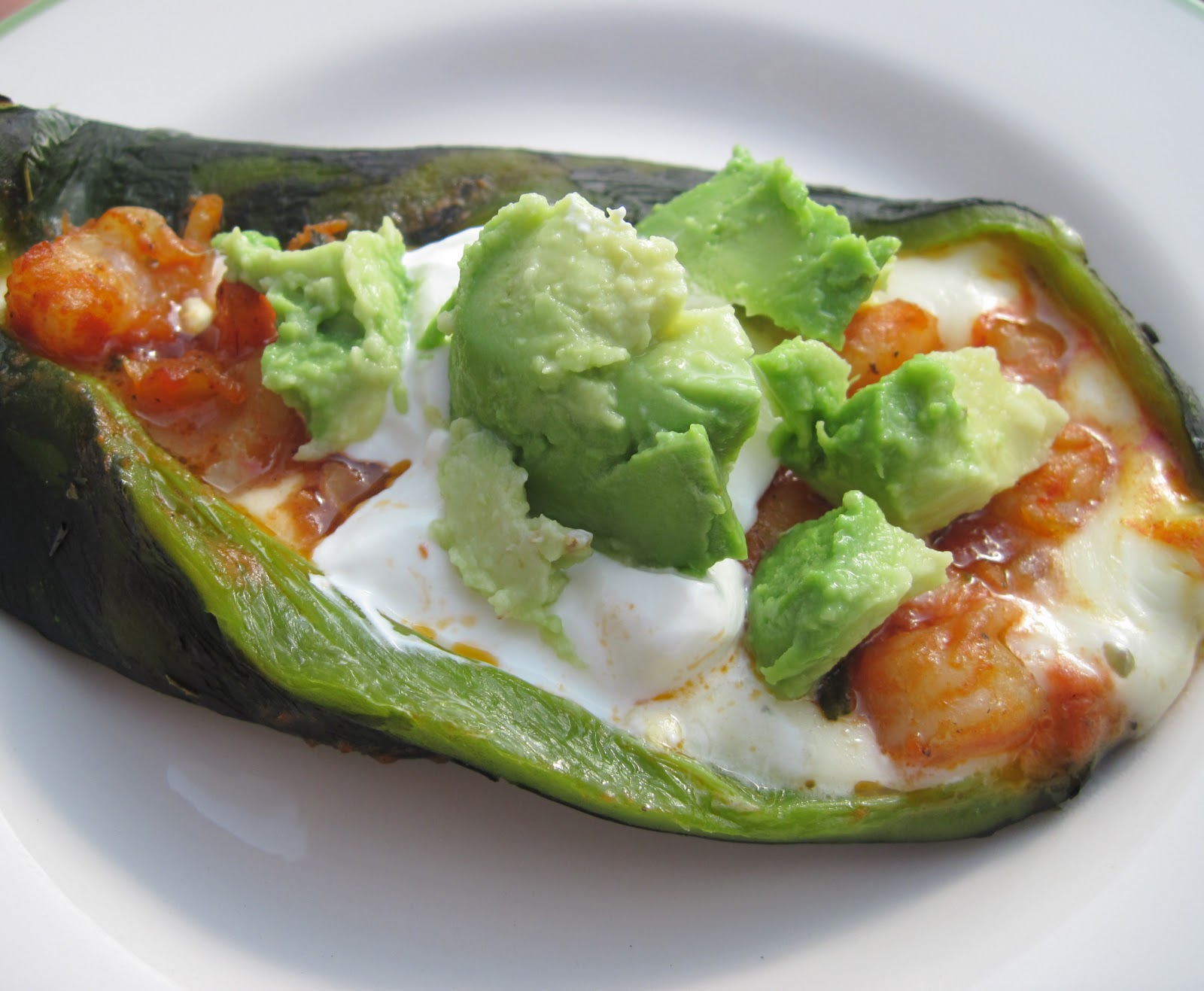 Luscious Low Carb: Chiles Rellenos Acapulco