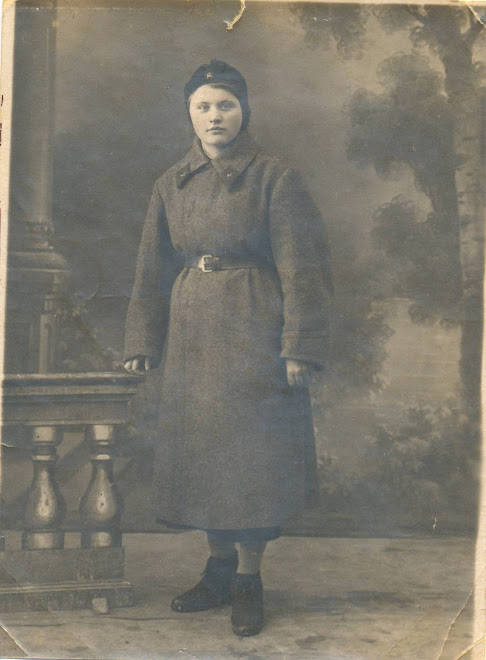 my mother in 1941 Borovichi