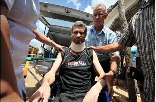 Ariel Sigler Amaya llega a Miami y es trasladado al hospital 005