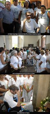ARIEL SIGLER AMAYA ACOMPAÑÓ A LAS DAMAS DE BLANCO Y DAMAS DE APOYO EN LA IGLESIA DE SANTA RITA EL DOMINGO 20 DE JUNIO EL DÍA DE LOS PADRES ArielSiglerSantaRita_1