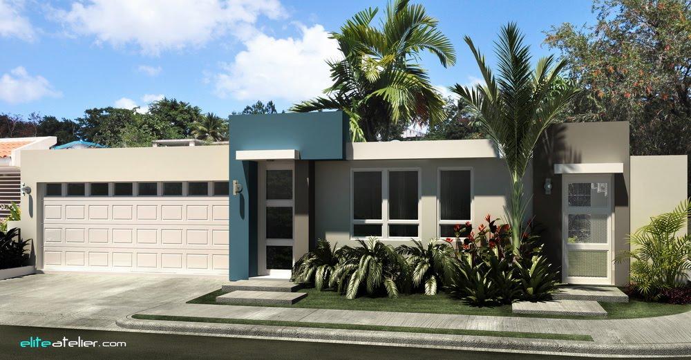 Im genes remodelaci n interior exterior for Fotos fachadas casas modernas puerto rico