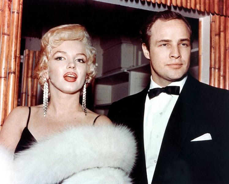 Marilyn y Marlon Brando