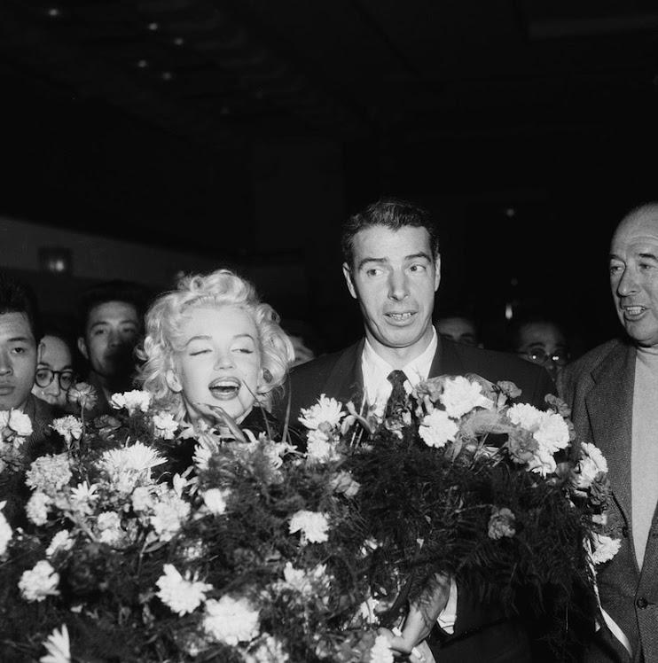 Marilyn y Joe DiMaggio