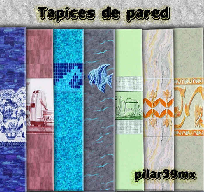Pilar39mx recubrimientos de pared tapices - Tapices de pared ...