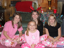 My Fruzinz!  Ali far left, Meagan far right, Camryn Bottom,Me top!
