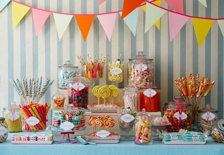 Heidi´s Pink Cake: Festejar con Golosinas