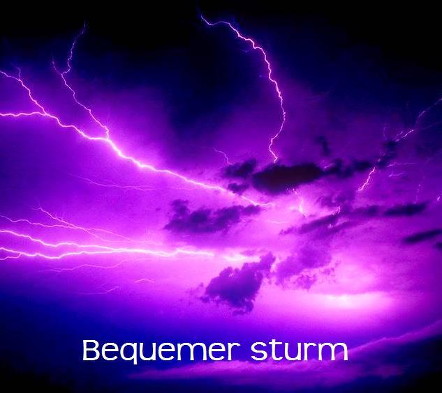 Bequemer sturm