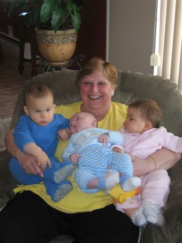 Nana and her babies...
