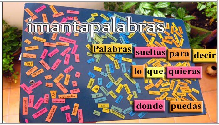 Imantapalabras: Poesía + Imán