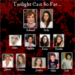 twilight movie all characters real name