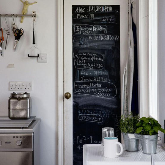 Adrienne marie designs kitchen chalkboards - Kitchen chalkboard paint ideas ...