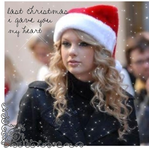 taylor swift christmas hat
