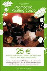 Promoção Peeling Corpo 25 euros