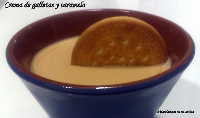 Crema de galletas y caramelo Thermomix