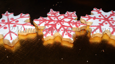 Galletas de navidad con membrillo de Santa Teresa
