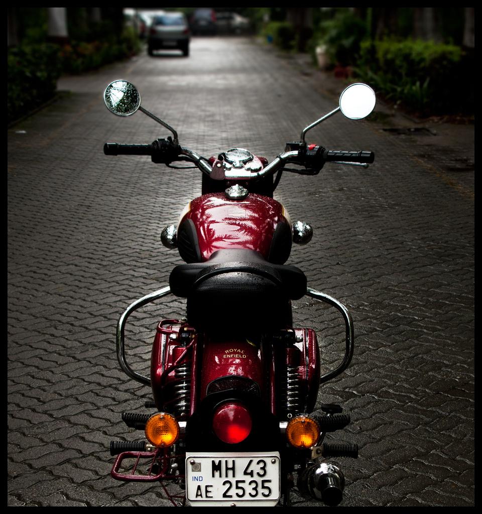 Bullet bike