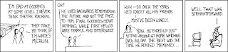 Merlin from xkcd.com c270