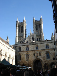 Lincoln cathedral taken on 21st February 2009