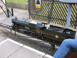 Butterley Park Miniature Railway at the Midland Railway Centre, Ripley on 28th June 2009