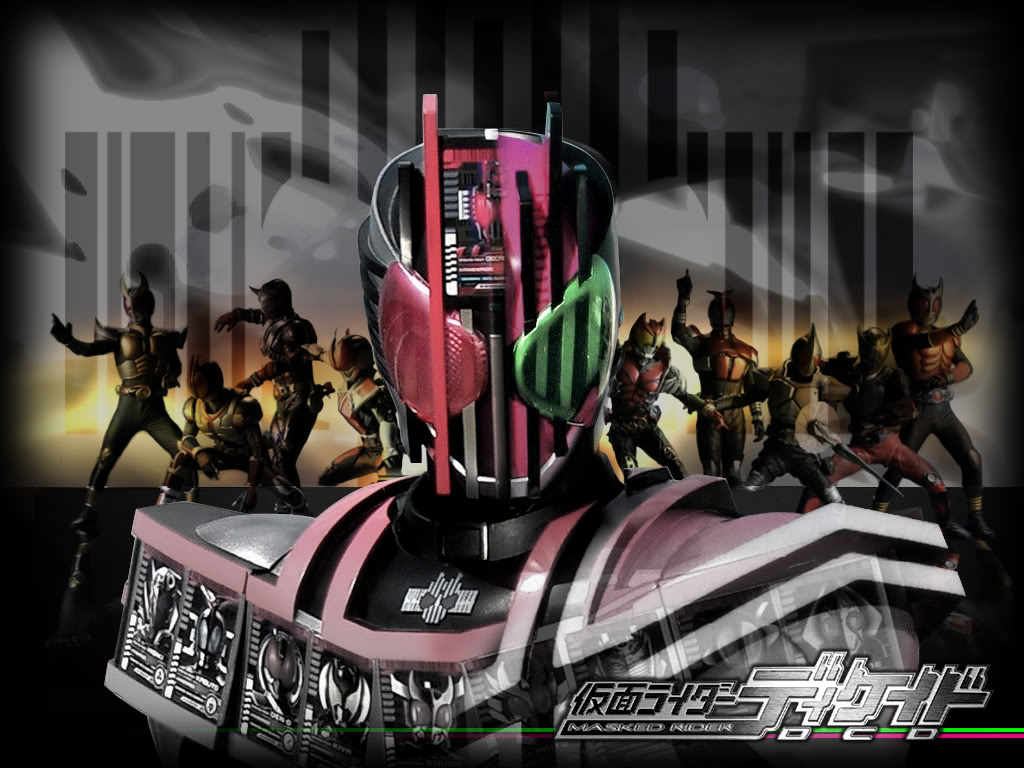 Kamen Rider Eternal Movie Kamen Rider Decade The Movie