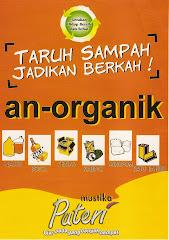 Stiker Sampah an-organik