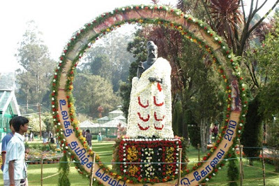 World Tamil Conference Ooty flower show photo
