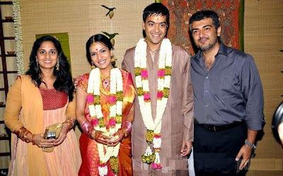 Ajith and Shalini with Soudarya Rajini