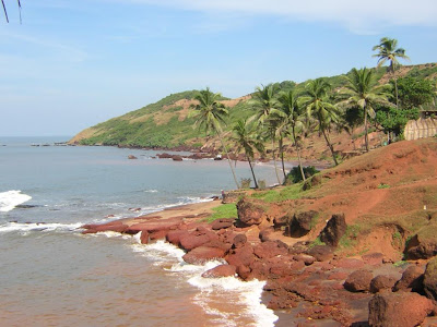 Goa beaches - Anjuna Beach