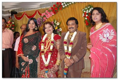 Aarthi Ganesh reception
