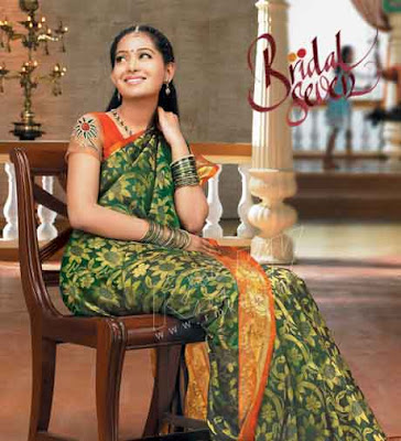 RMKV Bridal Seven Silk Sari designs