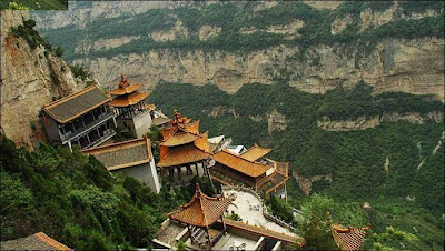 China Hanging Temple Photos