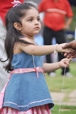 Actor Ajith's daughter stills